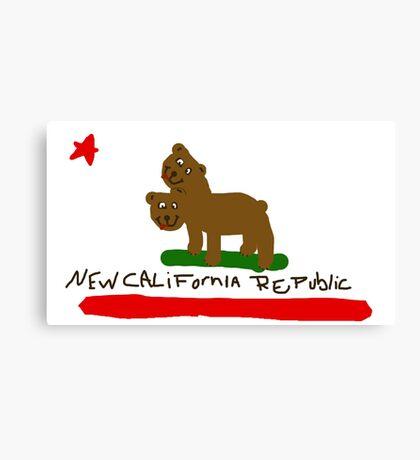New California Republic kids Canvas Print