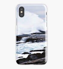 Ferocious Ocean -- Peggy's Cove, Nova Scotia iPhone Case