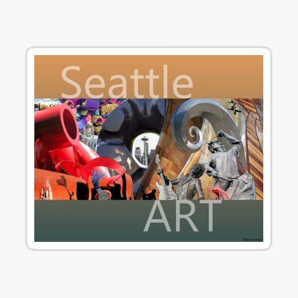 Seattle Art Sticker