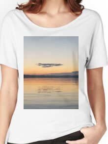 Sunset On The Bay Women's Relaxed Fit T-Shirt