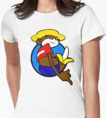 Johnny chimpo Women's Fitted T-Shirt