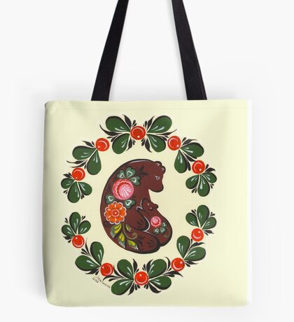 Mama bear and baby bear Tote Bag