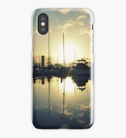 marina morning iPhone Case/Skin