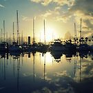 marina morning by RichCaspian