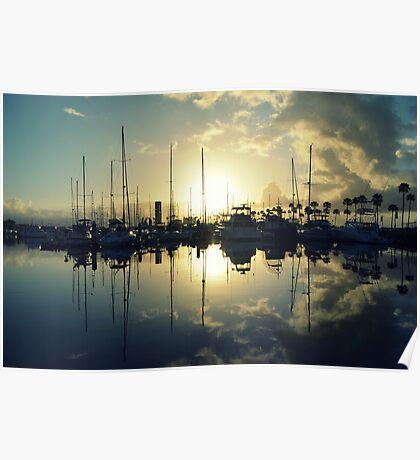 marina morning Poster