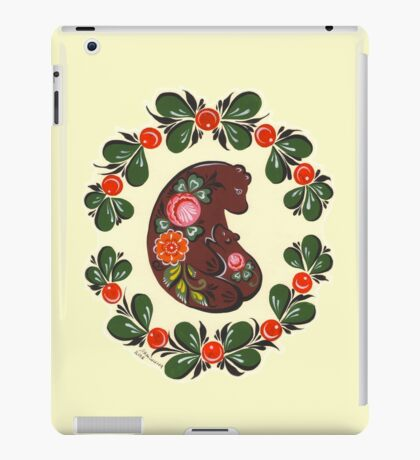 Mama bear and baby bear iPad Case/Skin