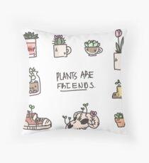 Cojín Las plantas son amigos