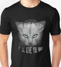 Krieger Katzen: Clear Sky Slim Fit T-Shirt