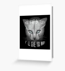 Warrior Cats: Clear Sky Greeting Card