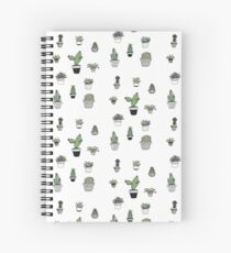 Potted plants Spiral Notebook