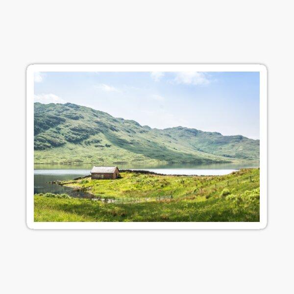 Loch Arklet   Scotland Sticker