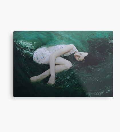 And the ocean loved her back Metal Print