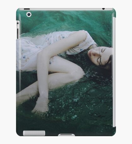 And the ocean loved her back iPad Case/Skin