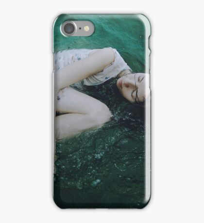 And the ocean loved her back iPhone Case/Skin