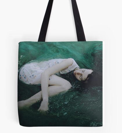 And the ocean loved her back Tote Bag