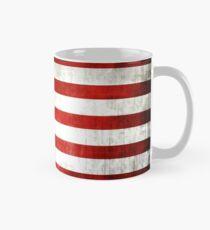 Grunge American flag Mug
