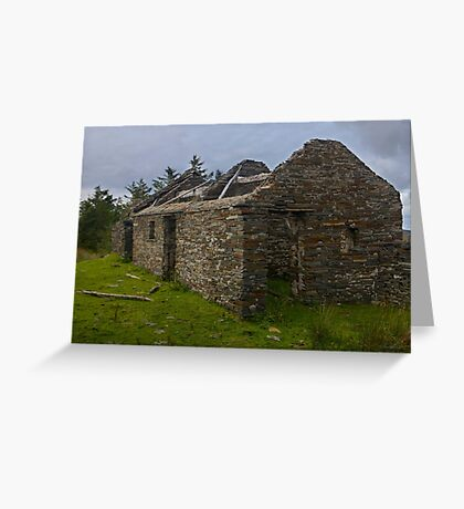 Stonework of a ruin Greeting Card