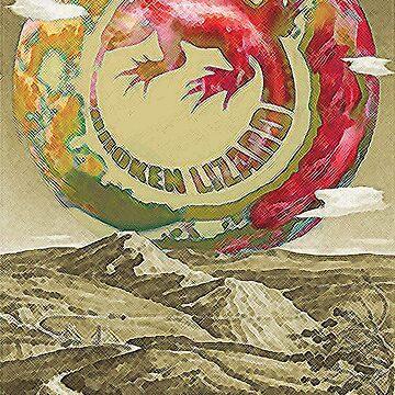 Planet Broken Lizard  by Stolhanske