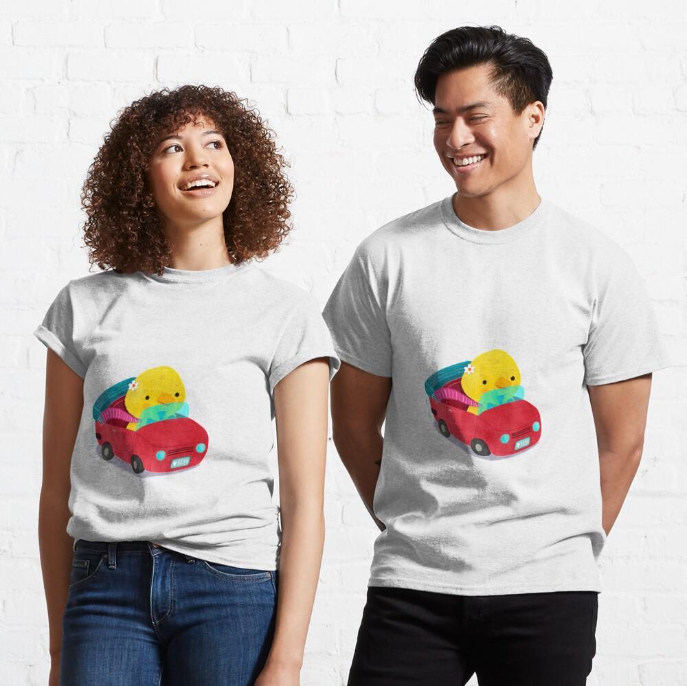 Miss Duck driving a car Classic T-Shirt