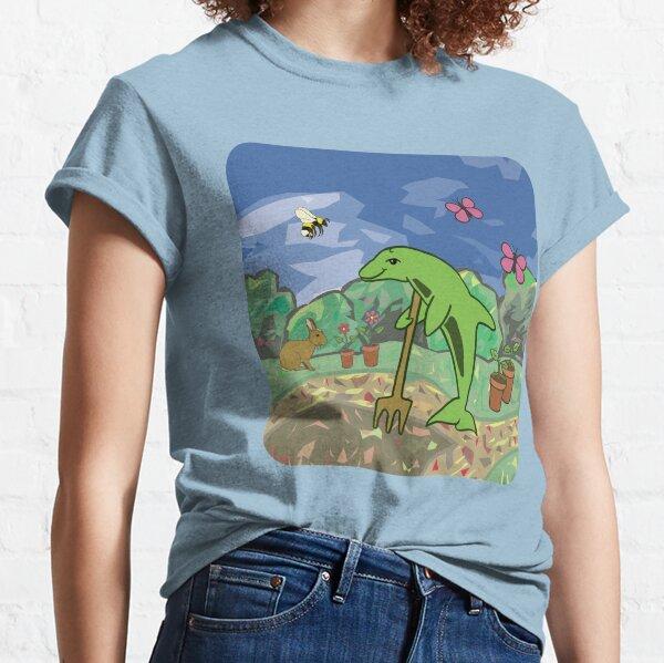 Gardening Dolphin Classic T-Shirt