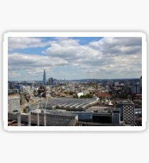 Waterloo Station and The Shard Sticker
