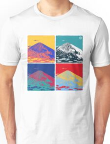 Mount Fuji Pop Art Unisex T-Shirt