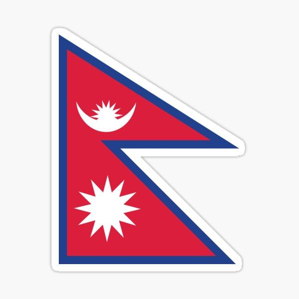 Népal Sticker