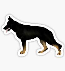 German Shepherd: Bicolor Sticker