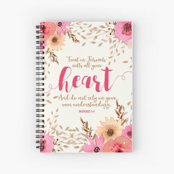 PROVERBS 3:5 Spiral Notebook