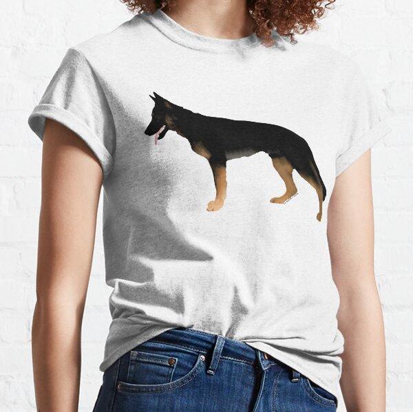 German Shepherd: Melanistic Tan & Black Classic T-Shirt