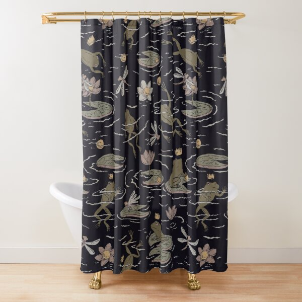 The Frog Prince Shower Curtain