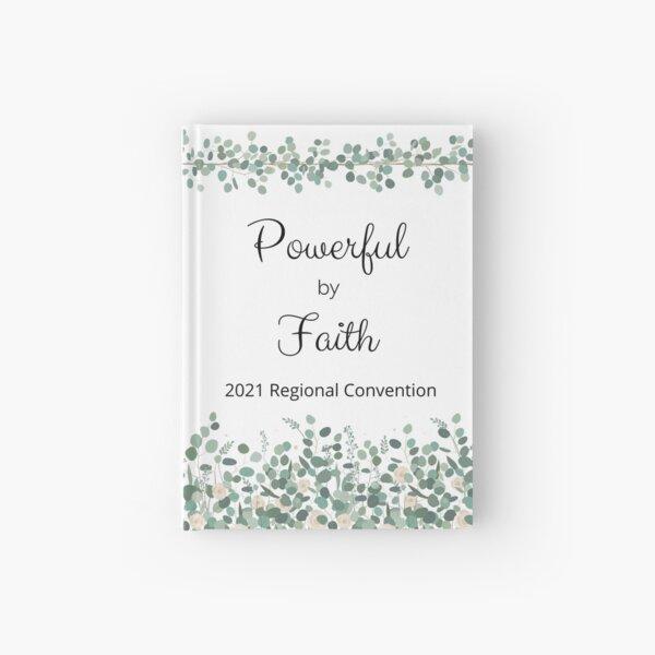 Powerful by Faith Regional Convention, Eucalyptus Hardcover Journal