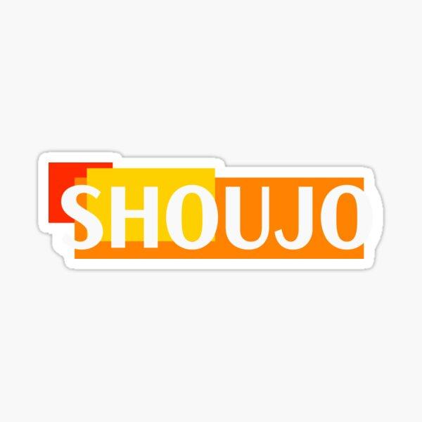 Shoujo Geometric force Sticker