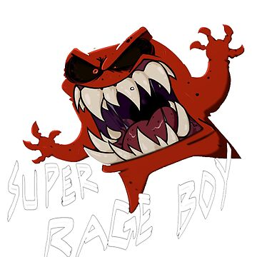 Super Rage Boy by GetFrankered