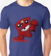 Happy Super Meat Boy Unisex T-Shirt