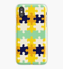 Puzzle pieces iPhone Case/Skin