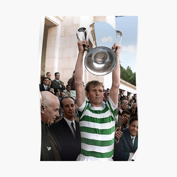 Billy McNeill en couleur 1967 Poster