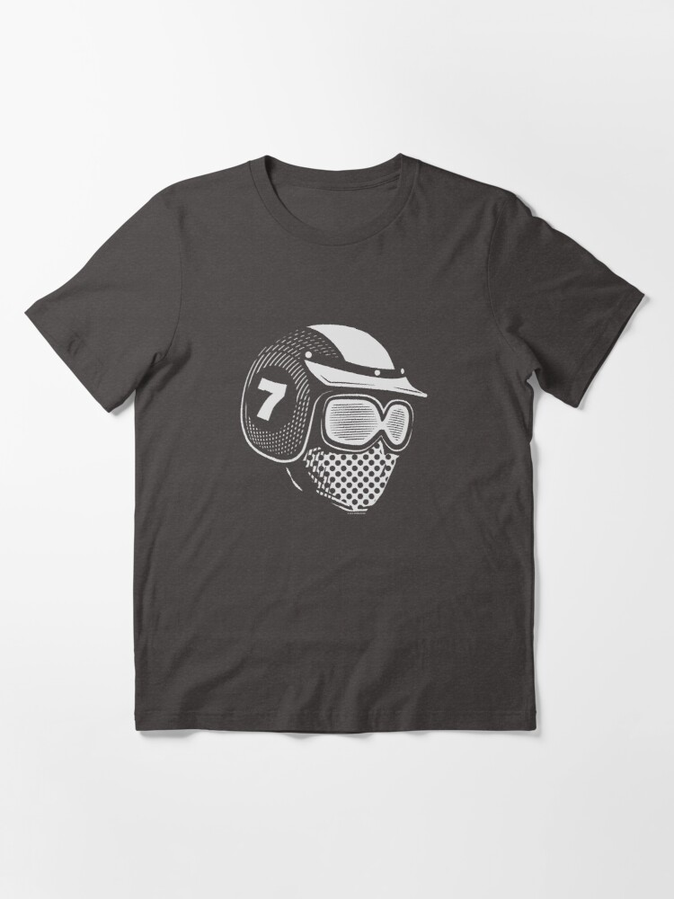 Alternate view of Lucky Seven (white) Essential T-Shirt