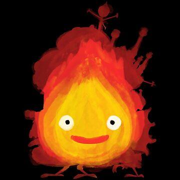 Fire Demon by jozvozdesign
