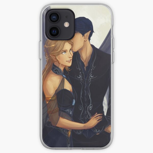 Feyre and Rhysand iPhone Soft Case