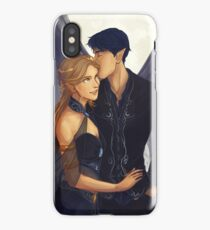 Feyre and Rhysand iPhone Case/Skin