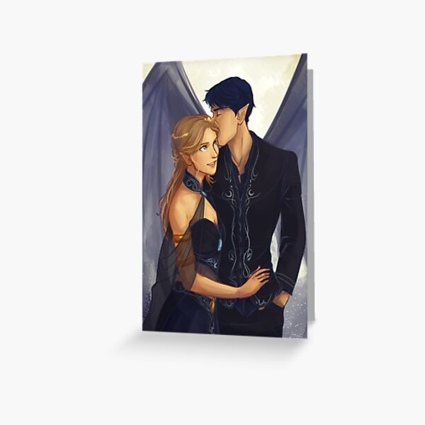Feyre and Rhysand Greeting Card