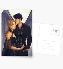 Feyre und Rhysand Postkarten
