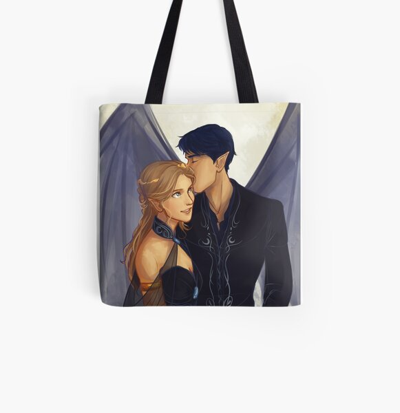 Feyre and Rhysand All Over Print Tote Bag