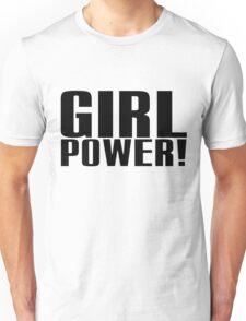 Girl Power (Black) Unisex T-Shirt