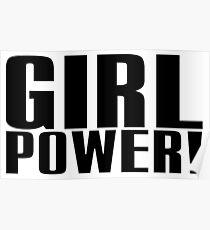 Girl Power (Black) Poster