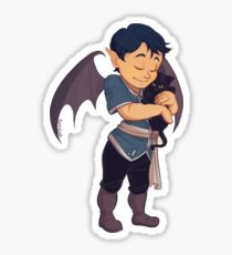 Baby Rhys hug Sticker