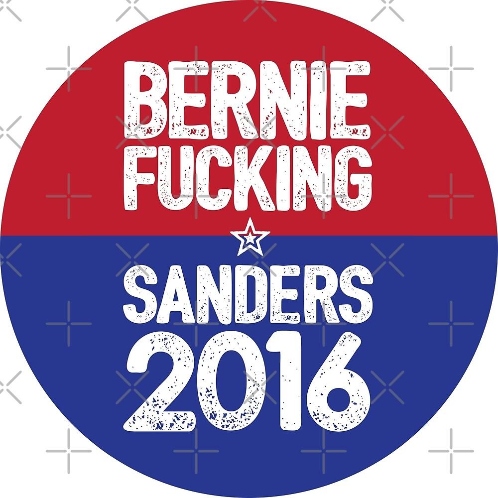 Bernie Fucking Sanders 2016 by wantneedlove