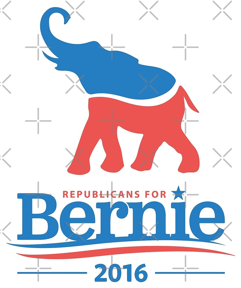 Republicans For Bernie 2016 by wantneedlove
