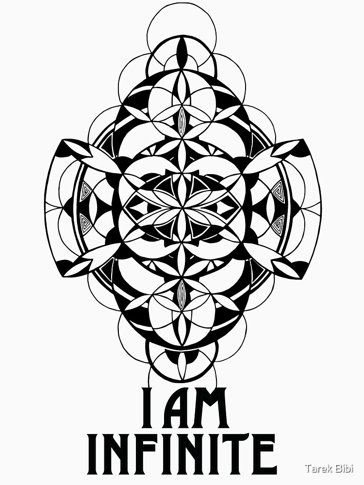 I AM INFINITE t-shirt by EEL84